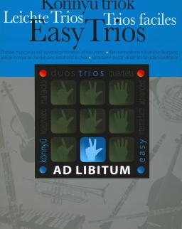 Könnyű triók -  Ad libitum sorozat, választható hangszerösszeállítással