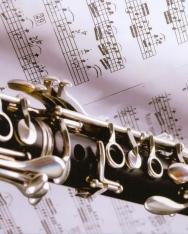 Képeslap - klarinét