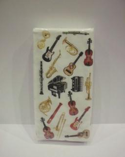 Papírzsebkendő - hangszeres