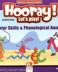 Hooray! Let's Play! Level B Fine Motor Skills and Phonetic Awareness Activity Book - American English