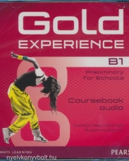 Gold Experience B1 Preliminary for Schools Class Audio CDs (2)