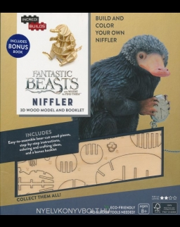 IncrediBuilds: Fantastic Beasts and Where to Find Them Niffler 3D Wood Model