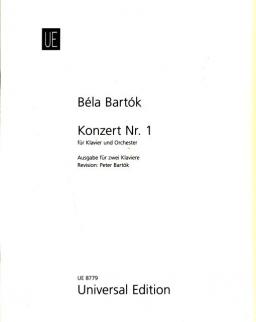 Bartók Béla: Concerto for Piano No. 1 (2 zongora)