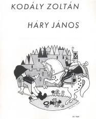 Kodály Zoltán: Háry János - zongorakivonat (magyar,német)