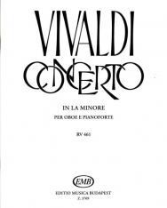 Antonio Vivaldi: Concerto for Oboe (a-moll)