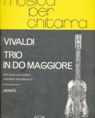 Antonio Vivaldi: Trio (D-dúr) gitárra, hegedűre és csellóra