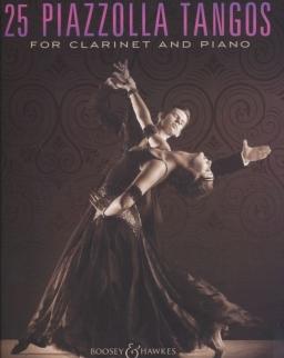 Astor Piazzolla: 25 Tangos - klarinétra zongorakísérettel