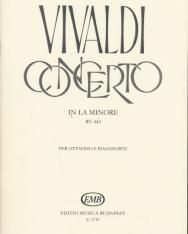 Antonio Vivaldi: Concerto for Ottavino (a-moll)