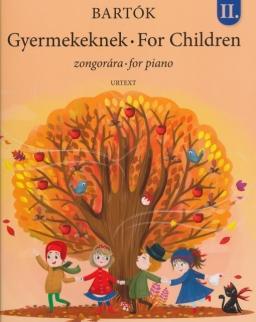 Bartók Béla: Gyermekeknek II. új (Urtext)