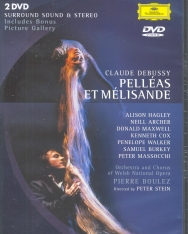 Claude Debussy: Pelléas et Mélisande - 2 DVD