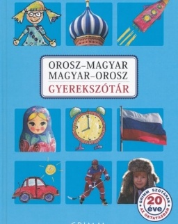 Orosz–magyar, Magyar–orosz gyerekszótár (MX-1308)
