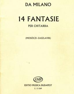 Da Milano: 14 Fantasie gitárra