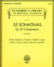 35 Sonatinas by 10 Composers