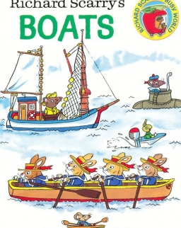Richard Scarry's Boats Board Book