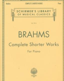 Johannes Brahms: Complete Shorter Works (zongorára)