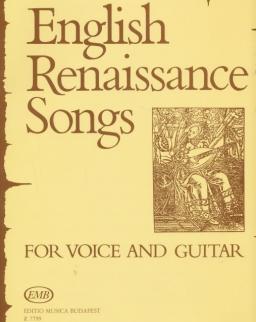 Angol reneszánsz dalok (ének-gitár)