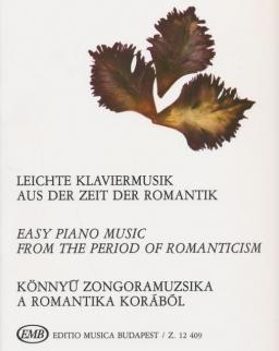 Könnyű zongoramuzsika a romantika korából