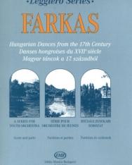 Farkas Ferenc: Magyar táncok a 17. századból - leggiero sorozat, ifjúsági vonószenekarra