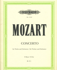 Wolfgang Amadeus Mozart: Concerto for Violin K. 211