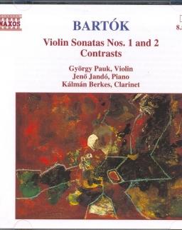 Bartók Béla: Violin Sonata No. 1,2 / Contrasts