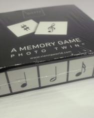 Memória játék - zenei írásjelekkel