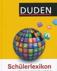 DUDEN Schülerlexikon - Schulwissen kompakt von A bis Z