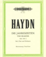 Georg Friedrich Händel: Die Jahreszeiten (Az évszakok) - zongorakivonat, Urtext