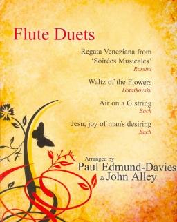 Flute Duets (Rossini, Tchaikovsky, Bach) zongorakísérettel