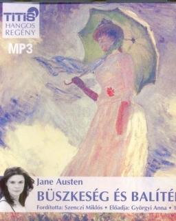 Jane Austen: Büszkeség és balítélet MP3 - Györgyi Anna előadásában