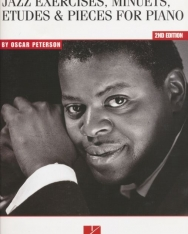 Oscar Peterson: Jazz exercises, Minuets, Etudes & Pieces for piano
