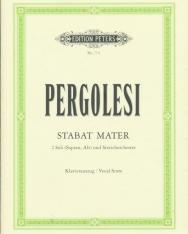 Givanni Battista Pergolesi: Stabat Mater - zongorakivonat