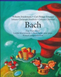 Bach fiúk könnyű zongoradarabjai Lakos Ágnes összeállításában