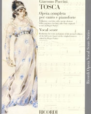Giacomo Puccini: Tosca - zongorakivonat (olasz, angol)