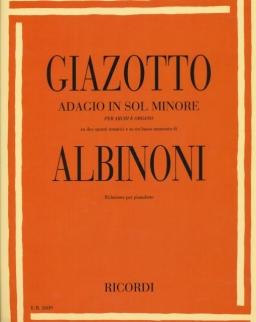Tomaso Albinoni: Adagio zongorára