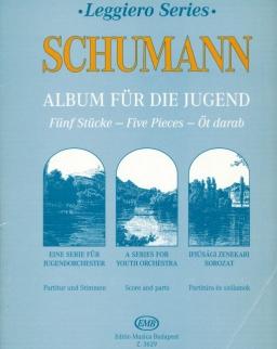 Robert Schumann: Ifjúsági album (leggiero sorozat, ifjúsági vonószenekarra)
