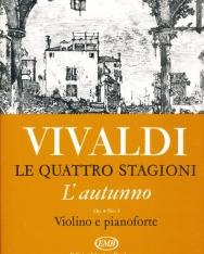 Antonio Vivaldi: Quattro stagioni 3. (L'autumno) hegedűre