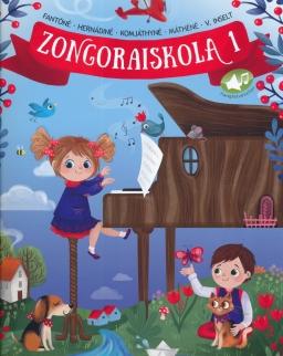 Komjáthyné-Fantóné: Zongoraiskola 1.