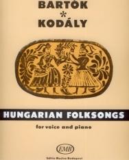 Bartók - Kodály: Hungarian folksongs