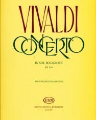 Antonio Vivaldi: Concerto for Violin (G-dúr)