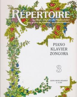 Répertoire zongorára 3.