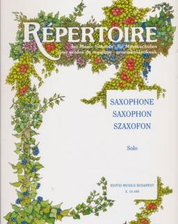 Répertoire szaxofonra - solo