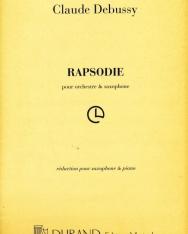 Claude Debussy: Rapsodie szaxofonra, zongorakísérettel