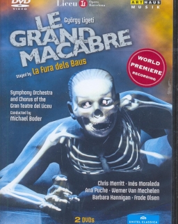 Ligeti György: Le Grand Macabre - 2 DVD