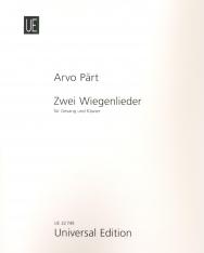 Arvo Pärt: Zwei Wiegenlieder