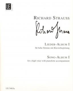 Richard Strauss: Lieder 1. - hohe Stimme