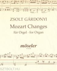 Gárdonyi Zsolt: Mozart Changes - orgonára