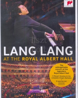 Lang Lang at Royal Albert Hall  (2013) - DVD