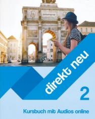 Direkt neu 2 Kursbuch mit Audios online