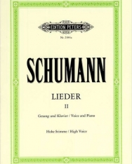 Robert Schumann: Lieder II. hohe