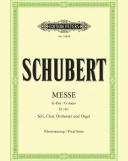 Franz Schubert: Messe G-dúr - zongorakivonat
